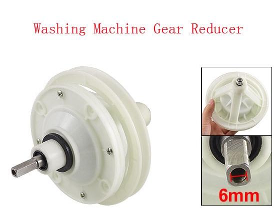 Einfach 5,7 dia Geschwindigkeit Getriebe Box Platz Welle Nbr Waschmaschine Getriebe Minderer Off White Eine GroßE Auswahl An Modellen Home