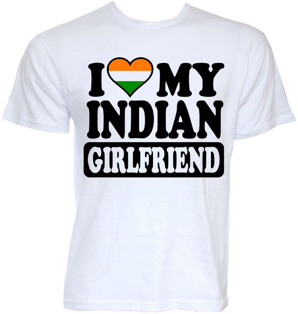 Mens Funny Cool Novelty Indian Friend India Flag T Shirts Joke Present Gifts