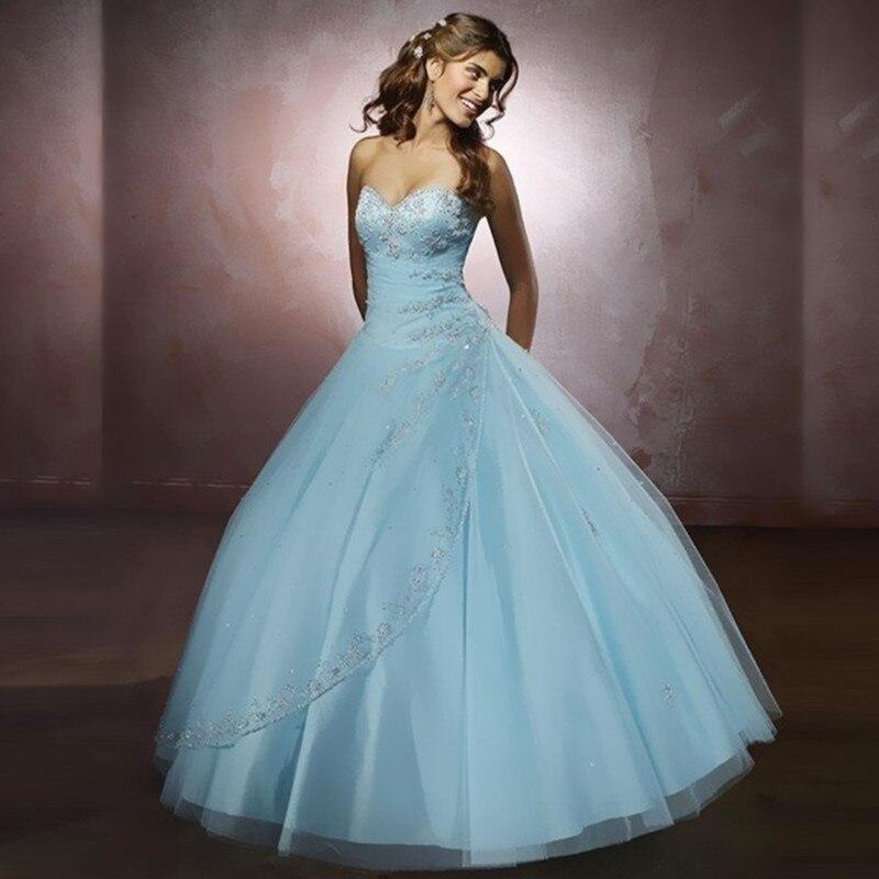 Online Get Cheap Baby Blue Sweet 16 Dresses -Aliexpress.com ...