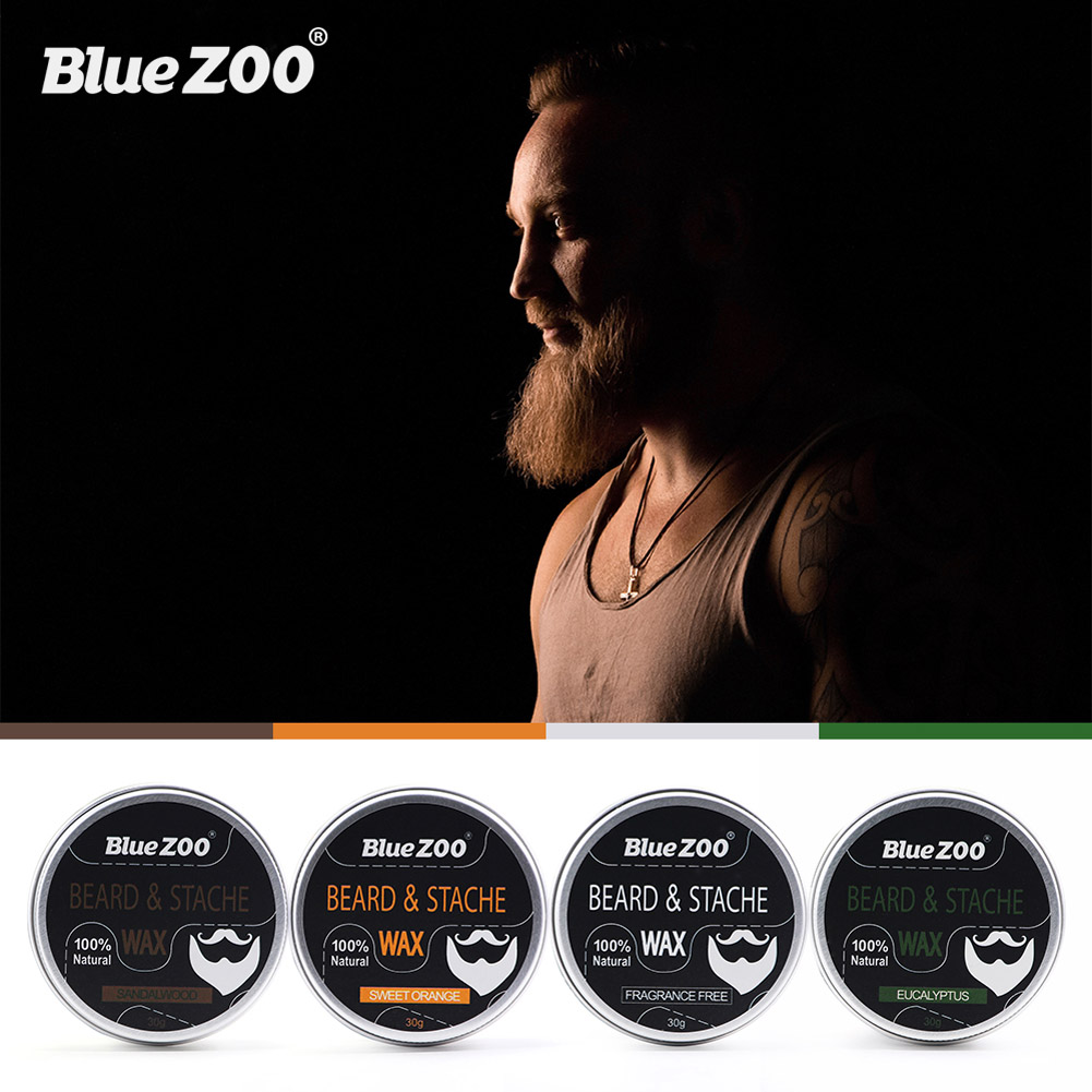 Men Beard Moustache Styling Wax Moisturizing Oil Control Balm Smoothing Care Cream  WH998 4