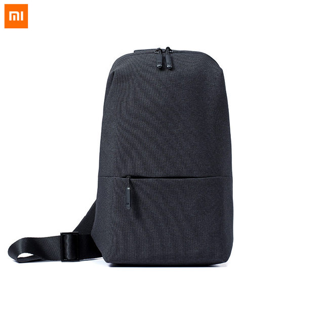 f5655f13d2 Original Xiaomi Backpack Sling Bag Mi Urban Leisure Chest Pack Small Size  4L Shoulder Type Unisex Rucksack Crossbody Casual Bag