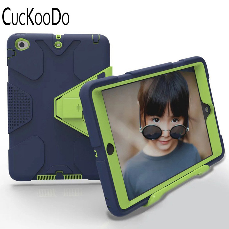 CucKooDo Heavy Duty Armor Full Body Protective Case Cover for Apple iPad Mini/iPad Mini2 ...