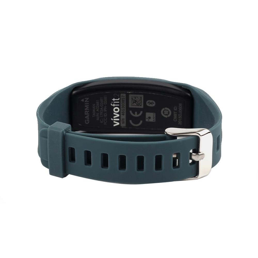 (JM2GJSS)Replacement Band Smart Activity Bracelet Wristband Accessories Protective For Garmin Vivofit 2 Not No Tracker M06