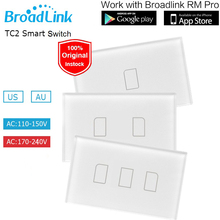 Broadlink TC2 US/AU Good House Contact Gentle Switches 1 2 three Gang 110V~240V Distant Management Wall Swap Contact Panel
