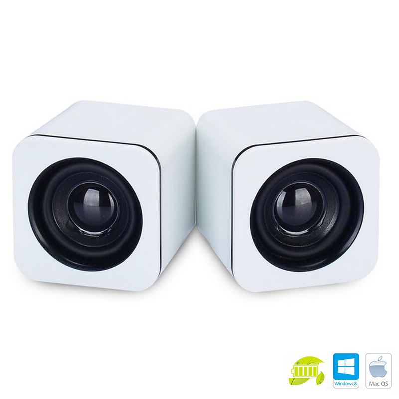 speakers small. aliexpress.com : buy universal white green mini active subwoofer small speakers imp 823 desktop computer laptop tablet pc notebook stereo from c