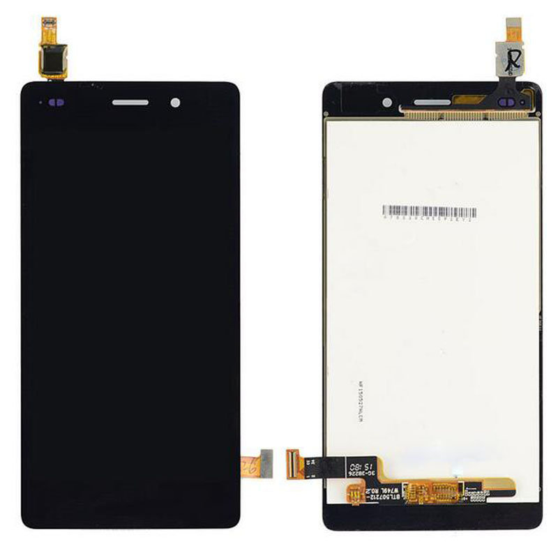 New Black Touch Screen Digitizer Glass Sensor+LCD Display Panel Screen For Huawei Ascend P8 Lite 5.0 Assembly Replacements