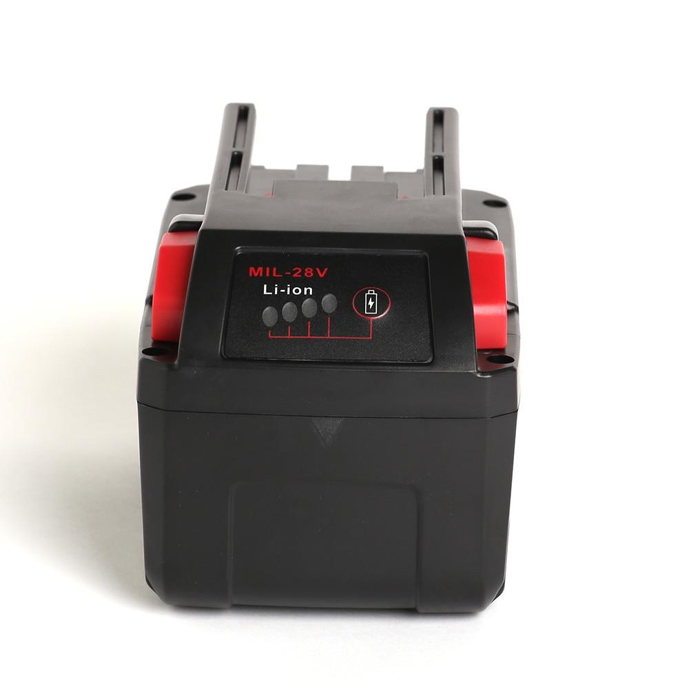 power tool battery Mil 28B 4000mAh 48-11-2830 V28 M28 0721-20 0726-22 0928-29 0928-23 0780-20 0729-20 0740-20 0730-20 0721-21