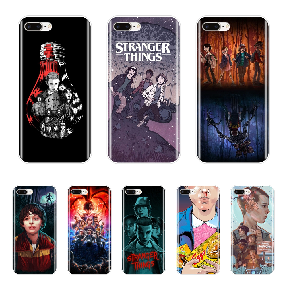Stranger Things Phone Case For Apple iPhone 6 S 6S 7 8 X XR XS Max Soft Silicone Back Cover For iPhone 8 7 6S 6 S Plus Case
