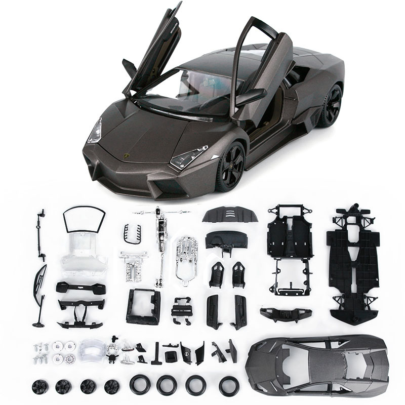 ФОТО Best Kids Birthday Gift Toys High quality Metal Supper Car Assembling Model Toys