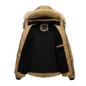 Image 3 - מותג חורף מעיל גברים 2019 מעיל החדש מעיל גברים למטה להתחמם אופנה בתוספת אסיה גודל M 4XL 5XL 6XL