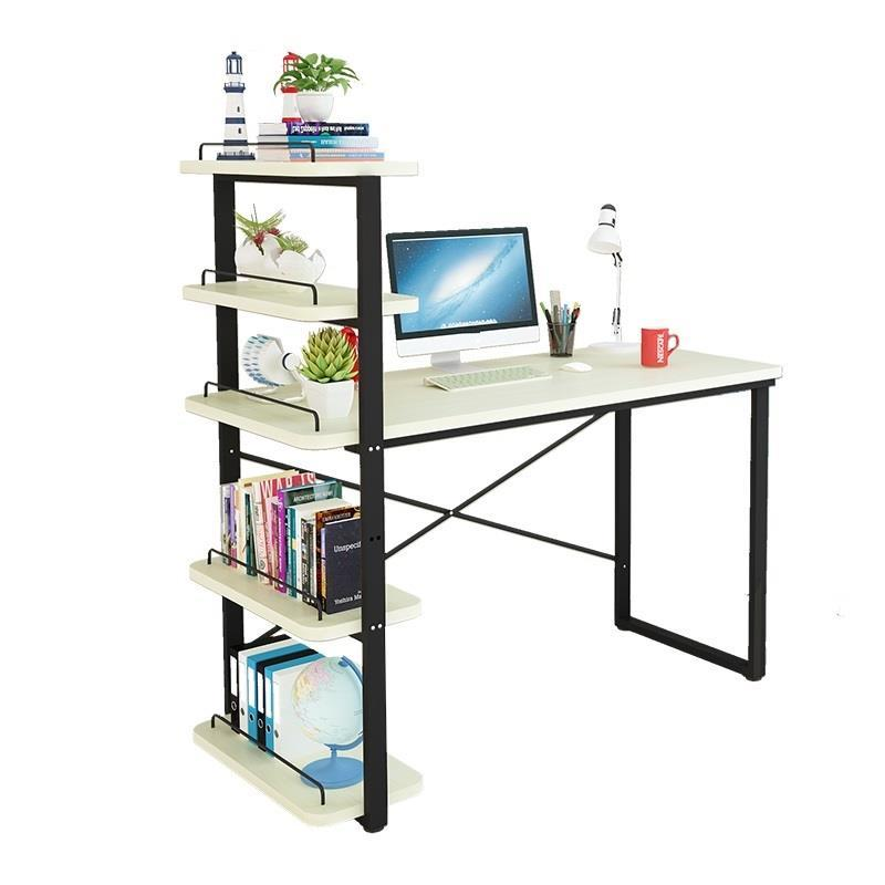 Computer office Student children's Simple desktop home Small desk combination computer desktop simple modern economical office student learning desk