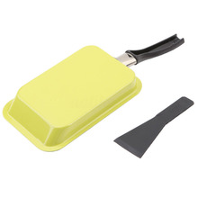 Mayitr Rectangular Mini Egg Pancake Frying Pan Non-Stick Egg Roll Sushi Omelette Square Frying Pan Kitchen Tools 18cm 2 Colors