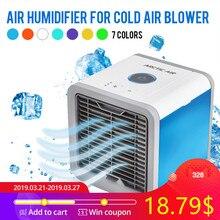 ada0b9e5be7 USB Mini Portable Air Conditioner Humidifier Purifier 7 Colors Light Desktop  Air Cooling Fan Air Cooler