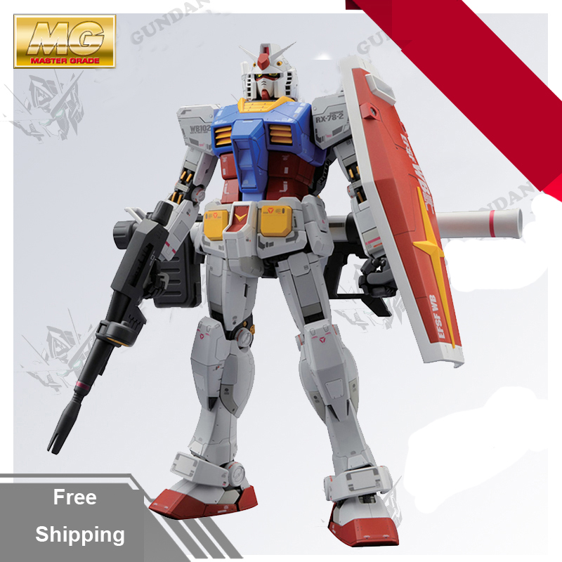 In Boxed DABAN 6628 Gundam model MG 1/100 RX-78-2 Fighter Ver.3.0 Mobile Suit kids toys daban 1 100 mg wing zero ew endless waltz xxxg 00w0 assembly model kit mobile suit not included display stand