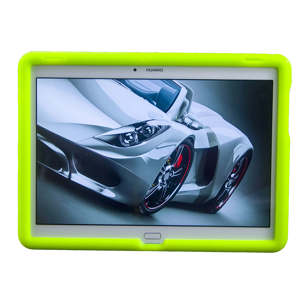 MingShore Funda de silicona para Huawei Mediapad M2 10.0 A01W Cubierta de parachoques de amortiguación para Huawei M2-A01L Funda suave para tableta