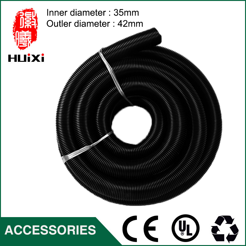 5m inner Diameter 35mm Outer Diameter 42mm Black EVA vacuum cleaner Hose with High Temperature for industrial Vacuum Cleaner vacuum pump inlet filters f007 7 rc3 out diameter of 340mm high is 360mm