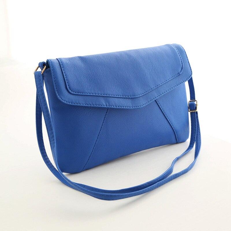 pequena bolsa crossbody satchel bolsa Color : Blue; Brown; Black;yellow;red;green;