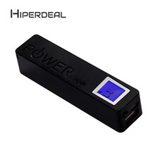 HIPERDEAL 2600mAh USB LCD Power Bank 18650 Battery Charger DIY Box Case Kitl Rechargeable Battery Power Wall Adapter Sep8