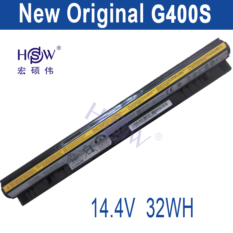 HSW genius LAPTOP battery 14.4V 32WH FOR Lenovo G400s G405s G410s G500s G505s G505s G510s S410p S510p Z710 bateria akku new lenovo g500s g505s ap0yb000h00 bottom base cover