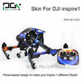 PGY-IS1-CO3 DJI Inspire 1 Accessories Sticker for DJI inspire1 RC Protective 3M Skin film Cover Case Skin Decal drone Wrap Sheet