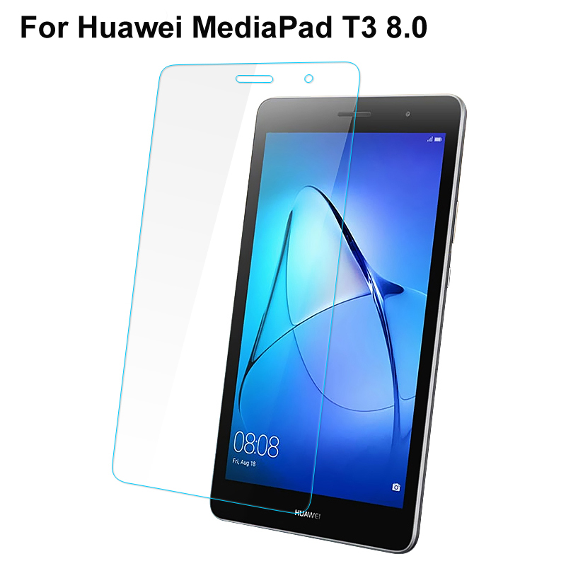 9H Premium Tempered Glass Screen Protector for Huawei MediaPad T3 8.0 KOB-W09 KOB-L09 Tablet Glass Film for Huawei T3 8.0 inch