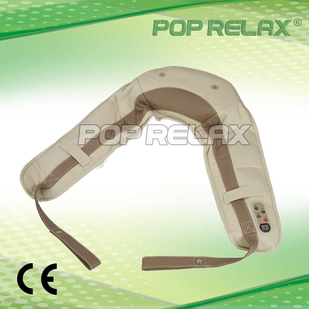 ФОТО AC220V! High quality! Tapping Shoulder massage belt from POP RELAX