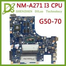 Lenovo Için G50-70 KEFU G50-70 Z50-70 i3 anakart ACLU1/ACLU2 NM-A271 Rev1.0 ile grafik kartı 100% test