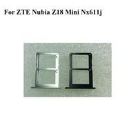 Für ZTE Nubia Z18 mini NX611J Neue Original Sim Karte Halter Behälter Card Slot Für Z 18 Mini Z18mini NX 611J Sim Karte Halter-in Handyhüllen aus Handys & Telekommunikation bei