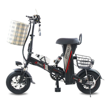 12-inch electric bike folding electric bicycle adult small generation drive electric bicycle lithium battery electric scooter