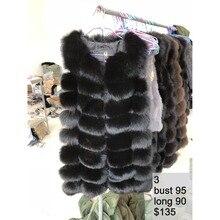 100% натуральный Лисий мех жилет женский роскошный жилет куртки теплое плотное меховое пальто фабричная Прямая продажа оптом