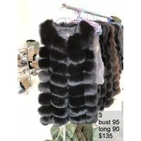 100% Real Fox Fur Vest Natural Fox Fur Vest Gilet Women Luxury Waistcoat Jackets Warm Thick Fur Coat Factory Direct Wholesale