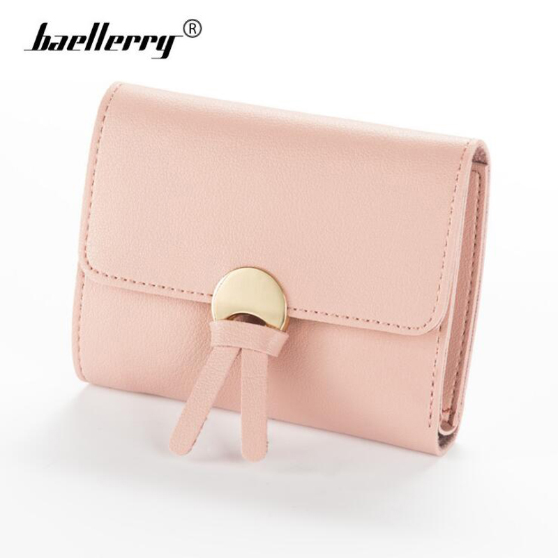 Baellerry Women's Wallet Short Purse Woman Money Bag Ladies Wallets Women Card Holder Girls Womens Designer Wallet Small vallet anime wallets new designer jeans wallet batman superman denim wallets young boy girls purse small money bag