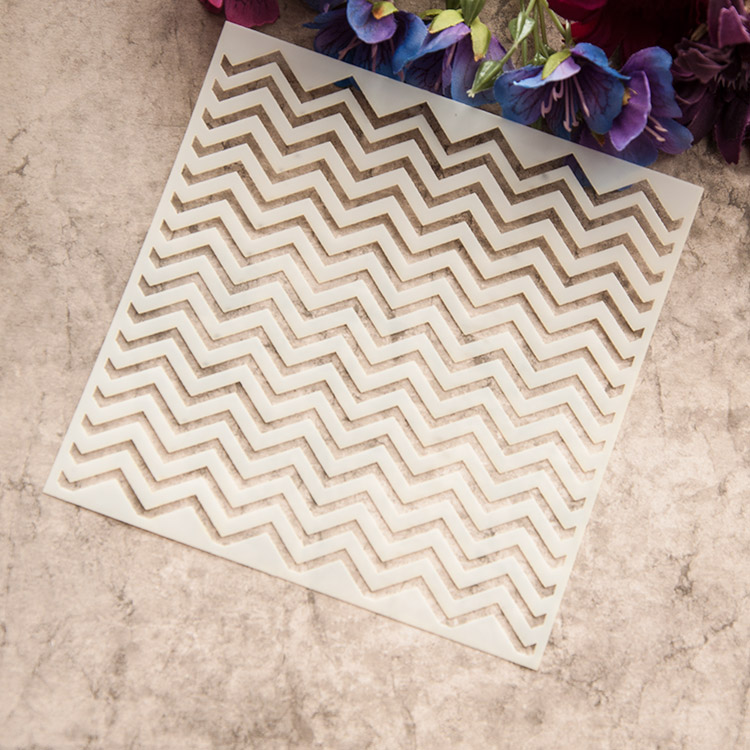 Classic Stripe Layering Stencils For Diy Scrapbook Coloringpainting