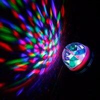 E27 3ワットled rgbステージライトledクリスタルマジックボールled舞台照明ディスコ照明ランプdj led電球パーティー踊