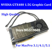 DHL/EMS Free New High Quality Original GTX480 1.5G PCI-E Video Graphic Video Card  GTX480 with powe cable DVI connector
