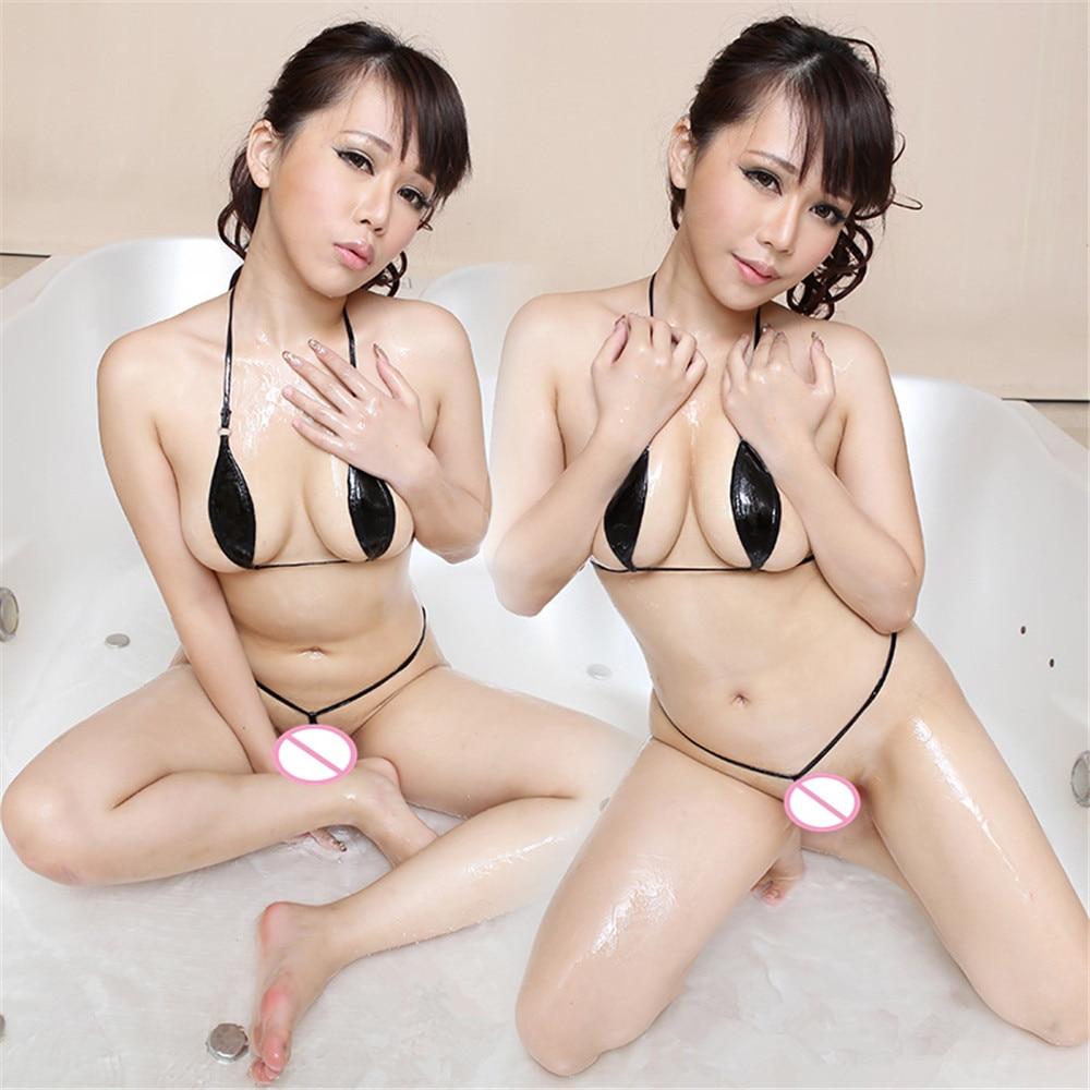 light halter Bandage Suit Nightclub perform micro bikini extreme bodysuit sexy lingerie porno bodystocking latex catsuit leather