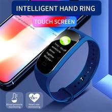 Купить с кэшбэком New M5 Smart Sports Bracelet Support Fitness Tracker Heart Rate Sleep monitoring Blood Pressure Wristband Waterproof Smart Watch