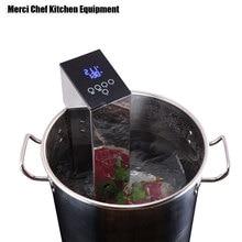 Купить с кэшбэком ITOP Low Temperature Vacuum Cook Machine Steak Cooker Vacuum Food Processor Machine Pure Boiled Sous Vide Cooking