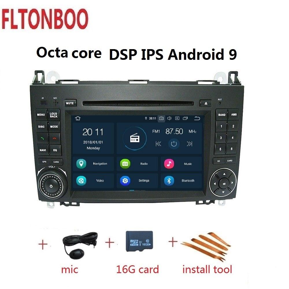 Navigation gps de voiture android 9 pour Mercedes Benz Sprinter, B200, classe B, W245, B170, W209, W169, pour vw crafter 4 GB RAM 32 GB ROM