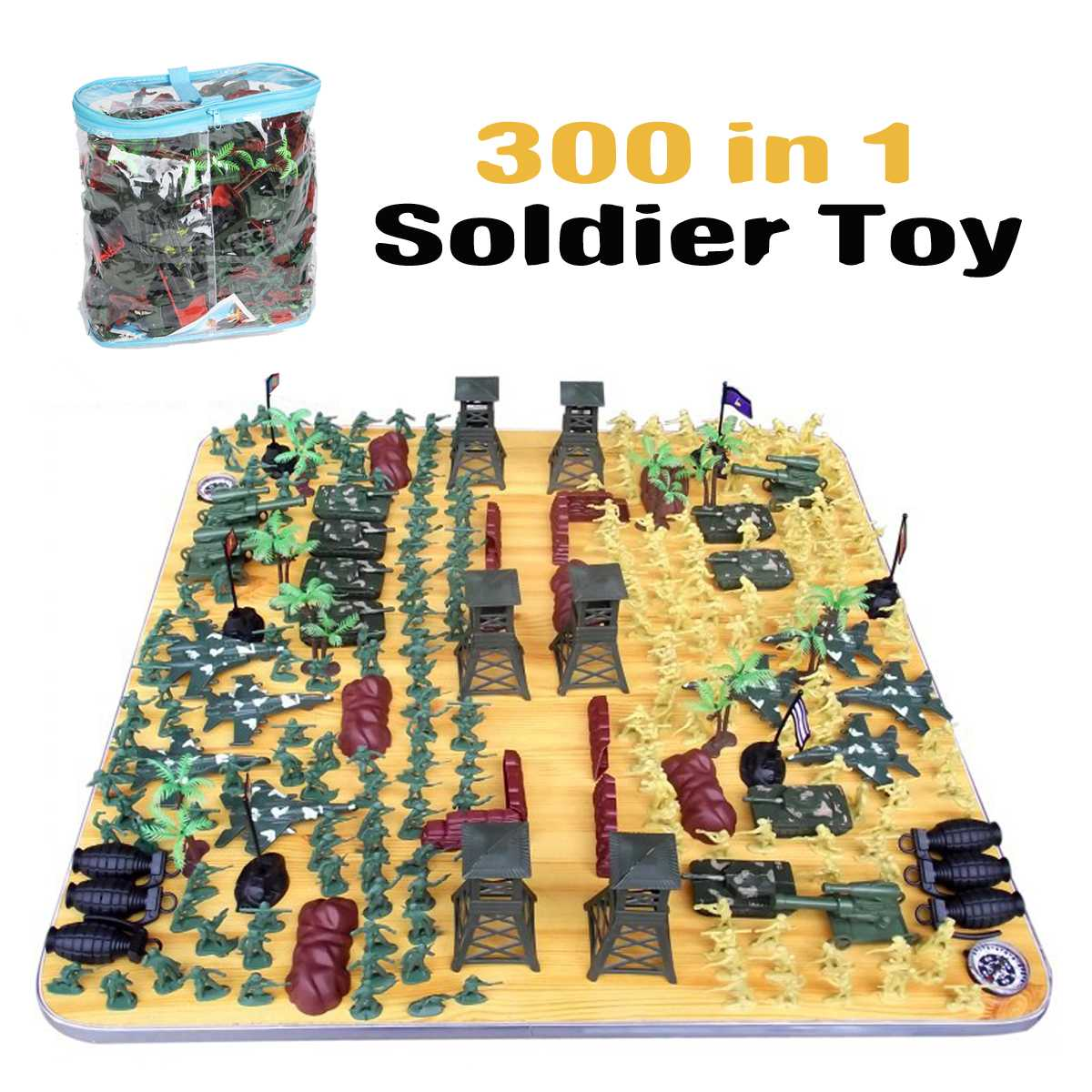 Soldier Model sandbox game Military Plastic Toy Soldier Army Men Figures & Accessories Playset Kit Gift Model Toy For Kids BoysSoldier Model sandbox game Military Plastic Toy Soldier Army Men Figures & Accessories Playset Kit Gift Model Toy For Kids Boys