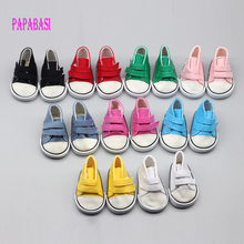 9color Cute Doll Shoes For 18 Inch Baby Born Doll Handmade Sneakers American Girl doll Accessories Denim Canvas Mini Toy Shoes