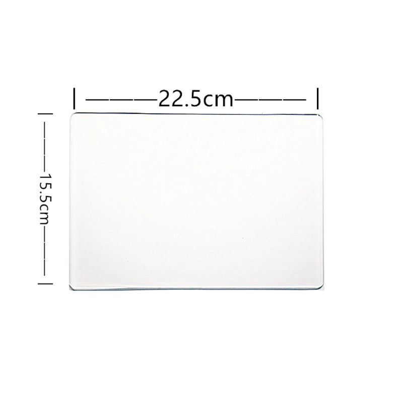 1Pc Spacer Platform Transparent Plate Adapter Mat For Cutting Dies Replacement
