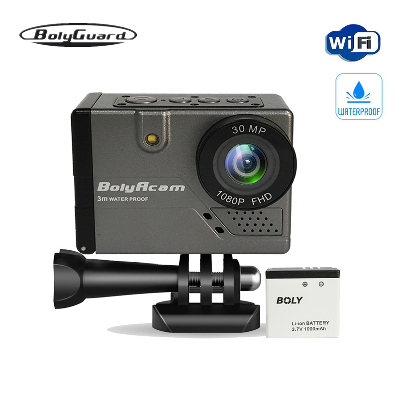 Bolyguard sport outdoor camera 30MP WIFI voice control waterproof 9ft photo traps trail camera night vision
