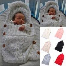 Bébé d'enfants En Bas Âge Nouveau-Né Couverture Swaddle Sac de Couchage Sac de Sommeil Poussette Wrap