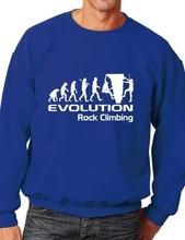 Evolution Of Rock Climbing Funny Adult Unisex Sweatshirt Birthday Gift More Size and Color-E148