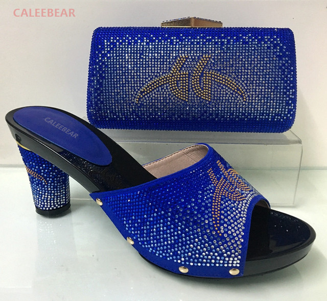 a80cb2de3825df 2017 Latest Italian Shoes With Matching Bags Nigeria Wedding Shoes And Bag  To Match Stones African Shoe And Bag Set For Parties