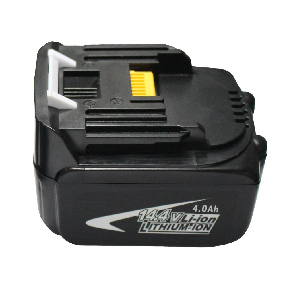ФОТО 14.4V 4.0Ah Lithium-Ion BL1430 Replacement Battery for Makita Cordless Tools BL1440 194558-0 194559-8 Free Postage