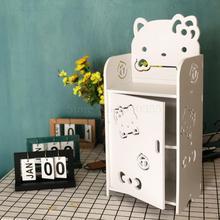 Детская мини прикроватная тумбочка мальчик девочка креативный современный минималистичный спальня простая Полка на стенку кровати многослойное хранение