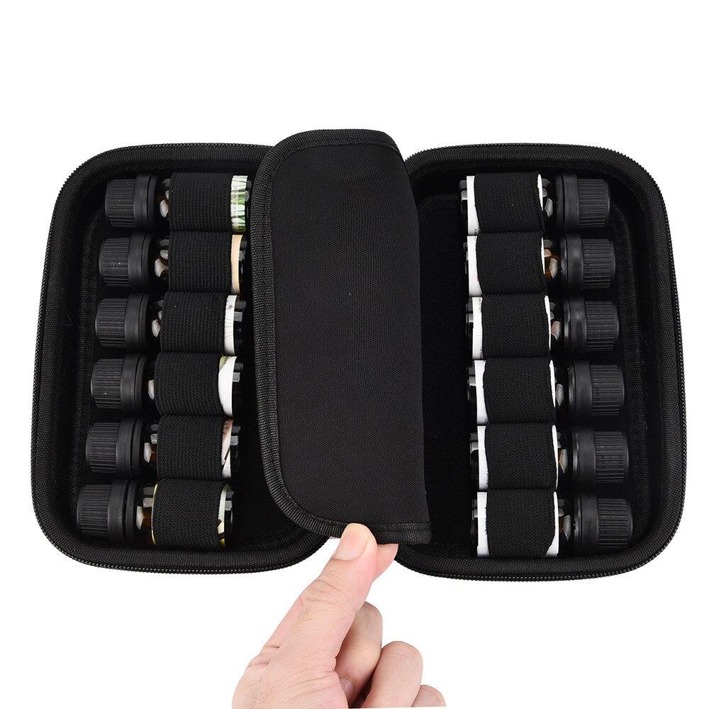 DIVV Storage Box For Essential Oils Case Carry Holder Aromatherapy Bag U71114
