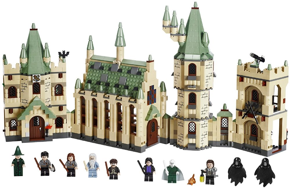 Lepin 16029+16030 Movie Series Hogwarts Castle Set Building Blocks Bricks Compatible 5378 4842 Educational Toys Model As Gift ynynoo lepin 02043 stucke city series airport terminal modell bausteine set ziegel spielzeug fur kinder geschenk junge spielzeug